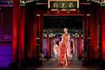 中国非物质文化遗产服饰秀拉开帷幕