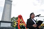 老挝川圹中国烈士陵园修缮竣工