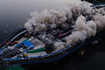 长春南湖大桥被爆破拆除