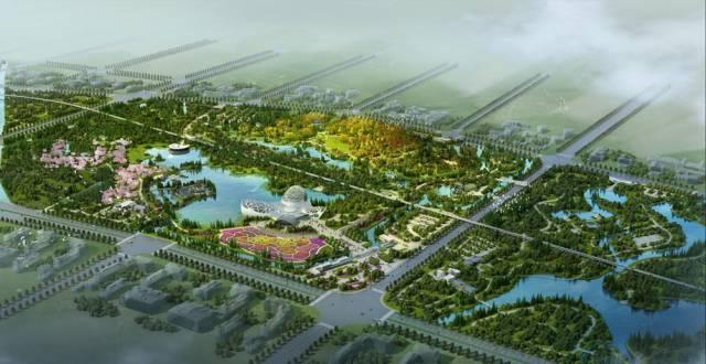 宁波植物园效果图
