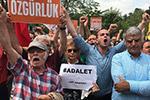 土耳其反对党举行大规模游行示威