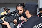 浙江湖州公安特警举行警营开放日活动