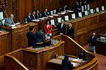 日本各界强烈抗议政府强行通过有争议法案