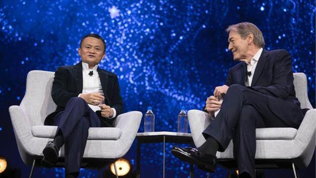马云:阿里不是电商公司 今年要为eWTP飞1000小时