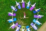 国际瑜伽日:感受人与自然和谐之美
