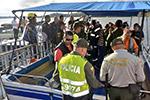 一艘游船在哥伦比亚西北部水库沉没