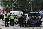 乌克兰基辅一轿车发生爆炸一名军人死亡