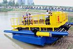山东滨州:水陆两栖综合作业平台测试成功