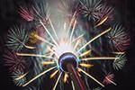 加拿大:绚丽烟火庆国庆