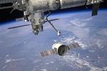 """美国""""龙""""飞船携中国实验从空间站返回地球"""