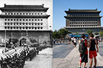 新旧影像记录北京不可磨灭的抗战记忆