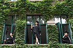 2017中戏毕业典礼举行 帅哥美女颜值超高