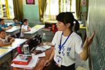 江西新干:大学生暑期下乡支教