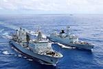 """中国海军开创新模式在印度洋建立""""移动补给点"""""""
