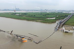 常州长江水域一化工码头发生火灾