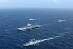 台媒:辽宁舰今日凌晨穿越台湾海峡 台军全程监控