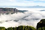 仙居:雾锁群峦如仙境