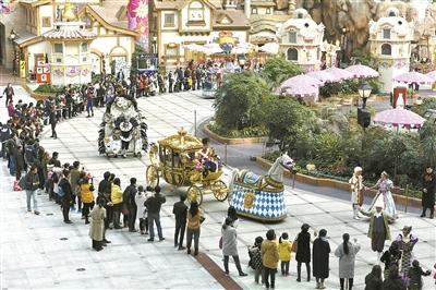 宁波主题乐园打开通向世界之窗