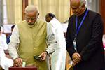印度总统选举开始投票