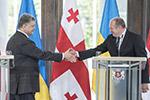 格鲁吉亚与乌克兰宣布建立战略伙伴关系