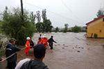 黑龙江局地暴雨尚志市境内多个林场受灾