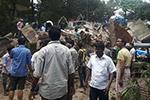 印度孟买郊区一楼房倒塌 致12人死亡