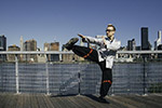曼哈顿的咏春拳师