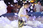 南京年轻人快乐泡泡趴尽享夏夜狂欢