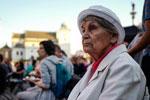 波兰民众举行活动 纪念华沙起义73周年