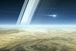 堆积、旋转形成壮观云层带 NASA公布最新土星照片(图)