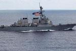 """美""""麦凯恩""""号驱逐舰与商船相撞致5伤10人失踪"""