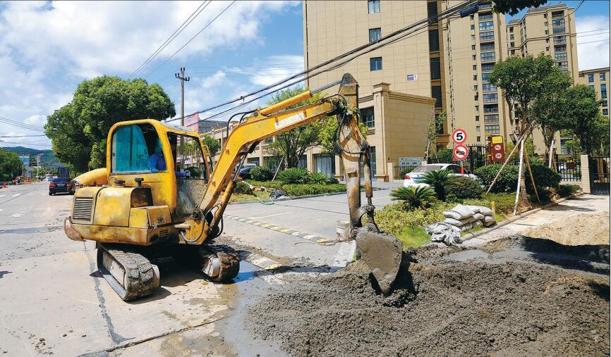东吴镇南路,改造工程启动