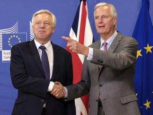 """英脱欧部长否认脱欧费为500亿英镑:""""无稽之谈"""""""