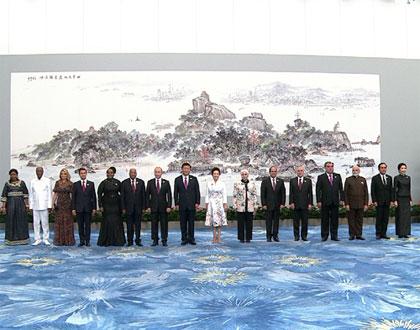 金砖国家领导人厦门会晤欢迎晚宴