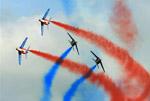比利时举办第40届国际萨尼科尔飞行表演