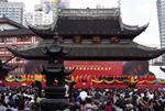 上海百年名刹玉佛寺平移顶升成功