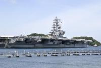 韩国防部:韩美10月再军演 美将出动航母战斗群