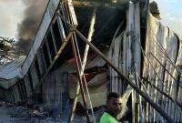 巴新一华人超市发生火灾 约10名侨胞下落不明(图)