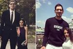 篮球运动员和妻子的最萌身高差