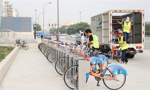 游玩锻炼两不误!公共自行车8天长假借了60万辆次