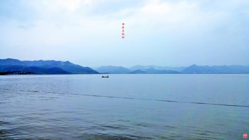 烟雨东钱湖
