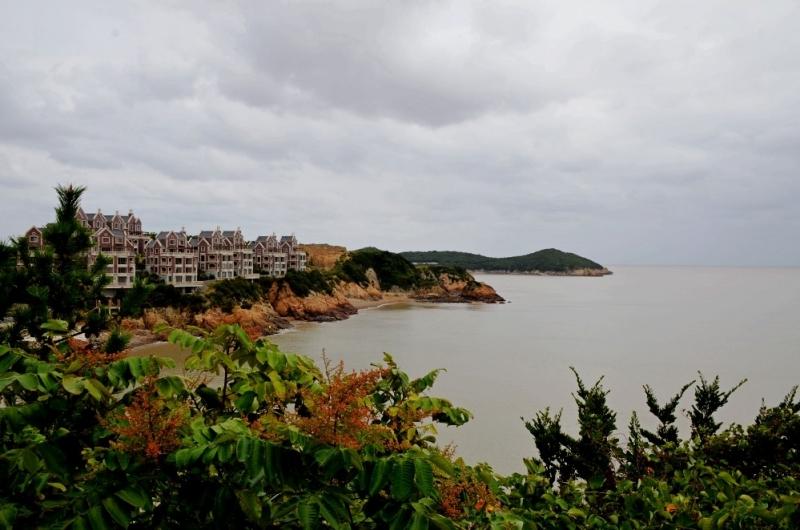 游舟山秀山岛