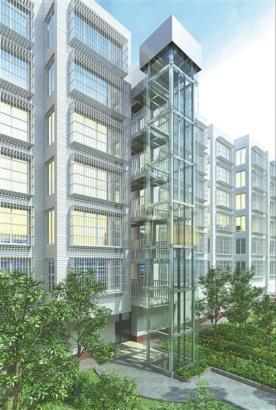 多层住宅加装电梯 鄞州孔雀小区成宁波首例