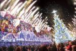 梦幻炫目!日本展出创纪录巨型光影圣诞树