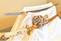 普京赠安倍的日本武士刀17日将首次公开亮相