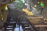 张家界现溶洞餐厅 游客可感受大自然鬼斧神工