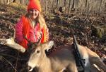 美国6岁女孩猎杀雄鹿