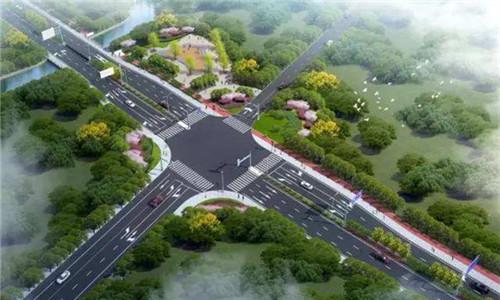 江北云飞路三期开工 预计明年12月建成通车