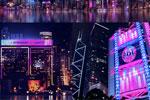香港炫彩灯光秀将持续整个12月