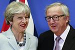 英国与欧盟达成脱欧协议 为贸易谈判铺平了道路